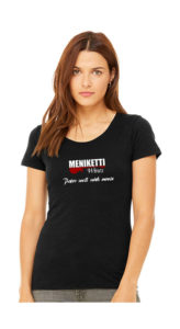 Photo of ladies' Meniketti Wines shirt