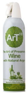 Photo of a can of ArT Wine Preserver