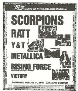 Poster of Day on the Green 1985