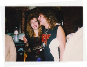 Photo of Dave & Jill 1980s