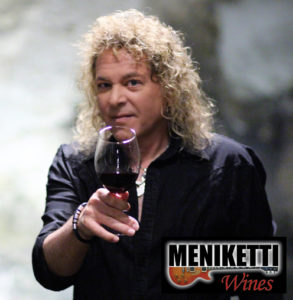 Dave with a glass of wine